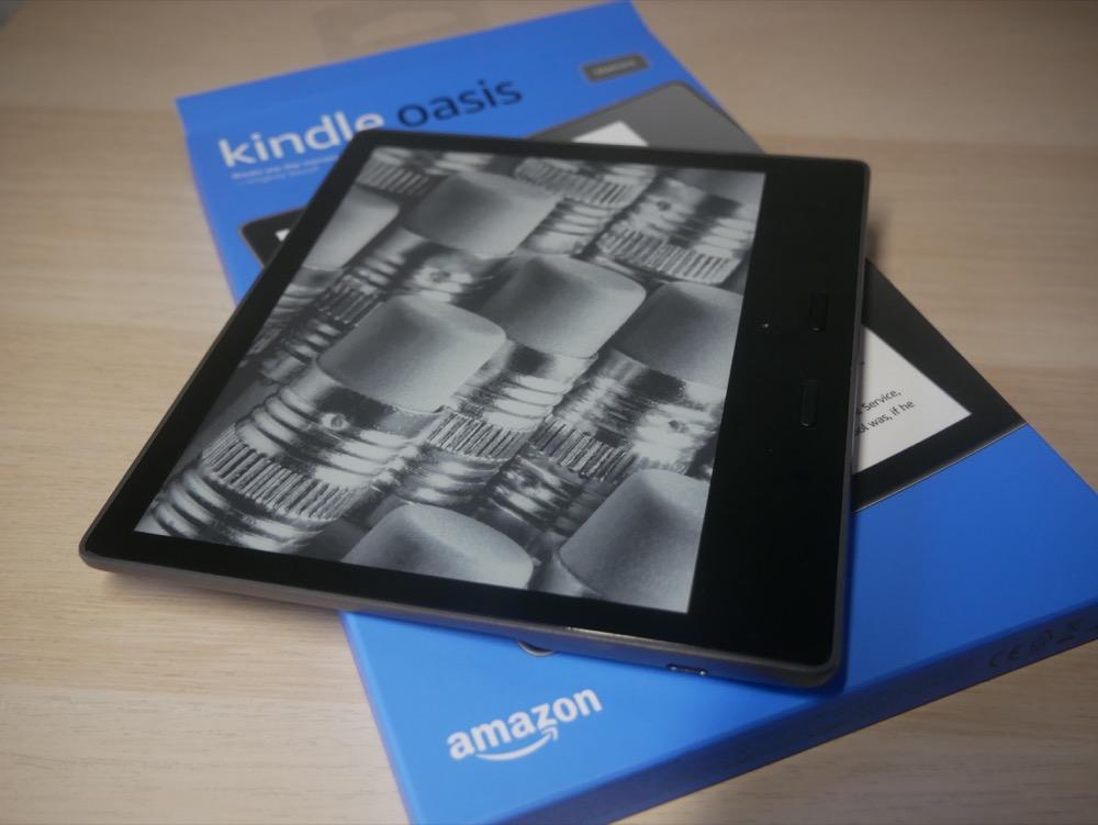 KindleOasis 30GB Wi-fi 広告無しタイプ